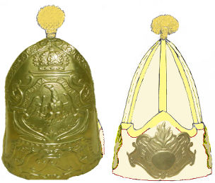 File:Mixed Recruit Battalion von Tettau Mitre Cap.jpg