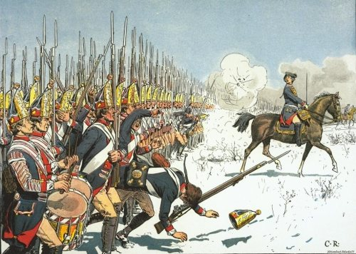 File:Prussian grenadiers at the battle of Leuthen.jpg