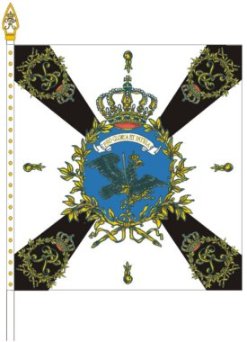 File:Prussian Garrison Regiment I Colonel Flag.jpg